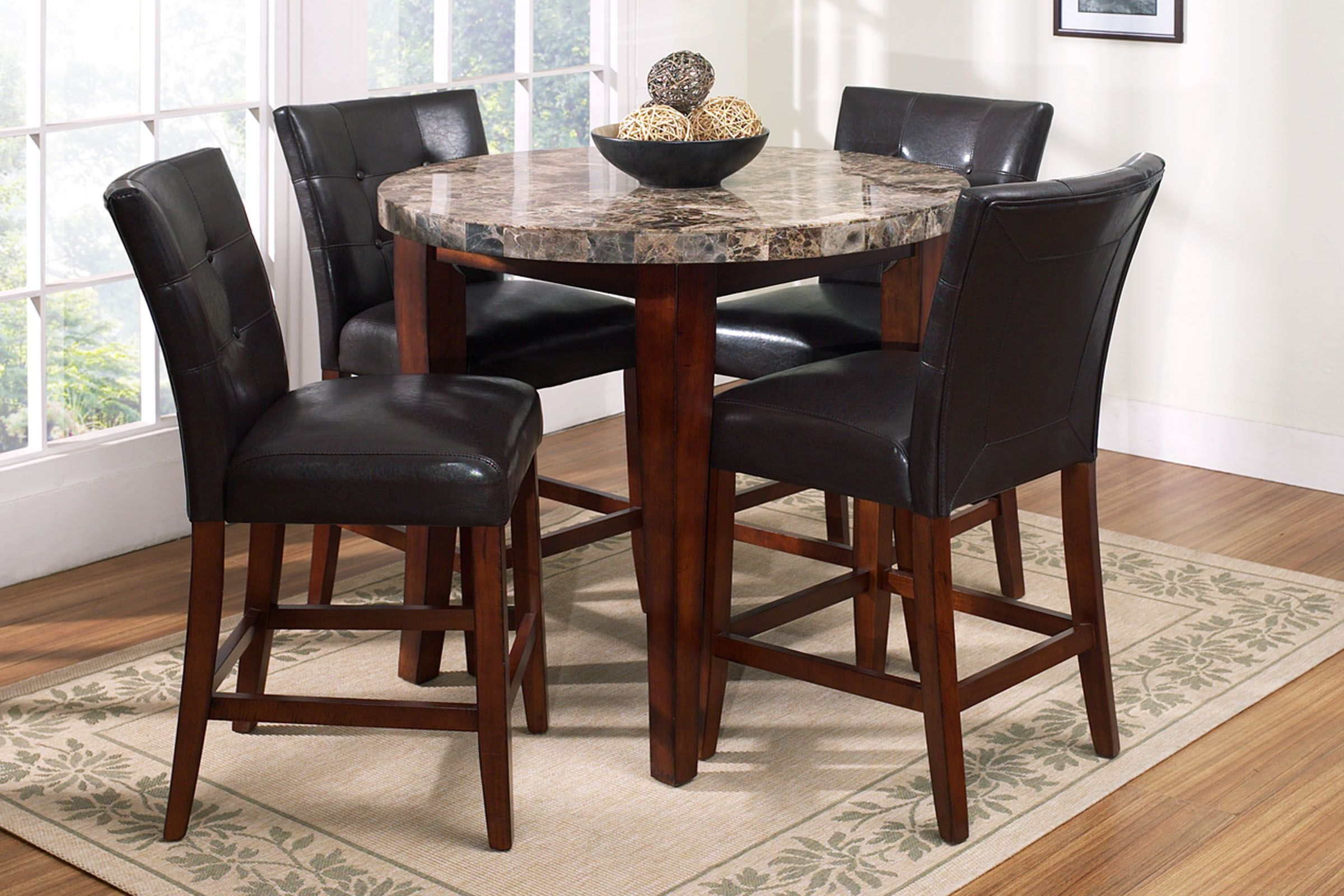 Montibello Round Pub Height Dining Room Collection